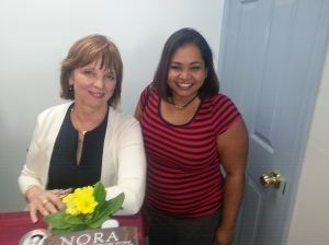 Nora Roberts and Me!  (One of many pictures)
